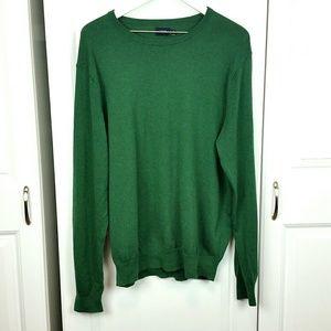 J Crew V-neck sweater, sz XL